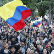 sciopero generale in Colombia