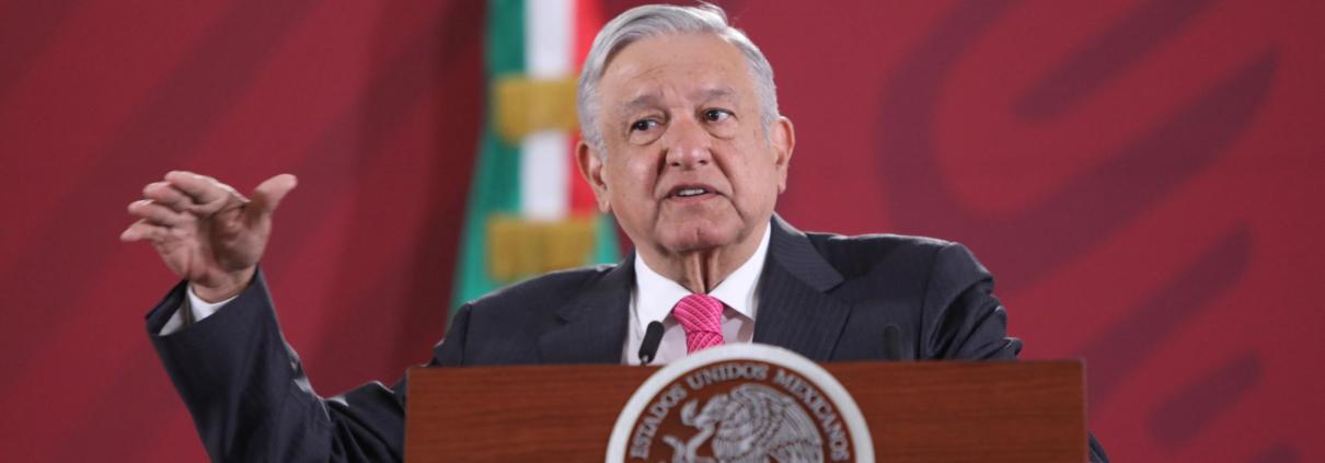 Il presidente messicano Lopez Obrador