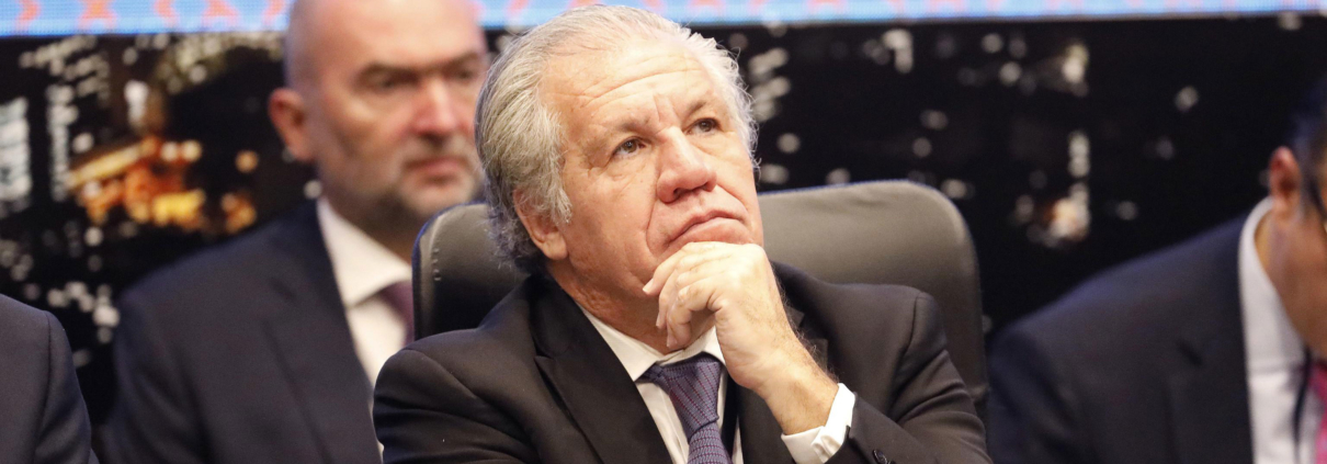 Il segretario generale dell'Osa Luis Almagro