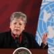 La segretaria esecutiva della Cepal Alicia Barcena