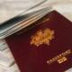 Un passaporto francese