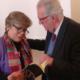 La segretaria esecutiva Alicia Barcena insieme all'ex sottosegretario Gilberto Bonalumi