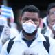 Il gruppo di medici e infermieri arrivati in Italia da Cuba per l'emergenza coronavirus